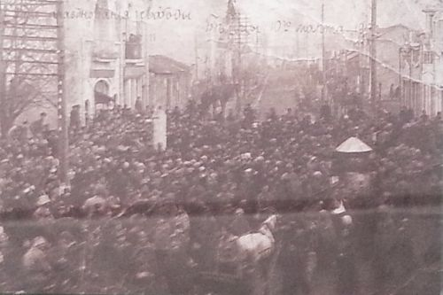 10  demonstraci v belecah  mart 1917 g